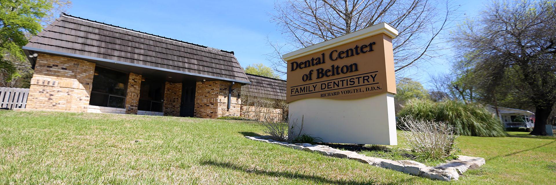Dental Center of Belton office building