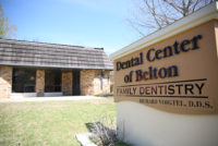 Dental Center of Belton sign